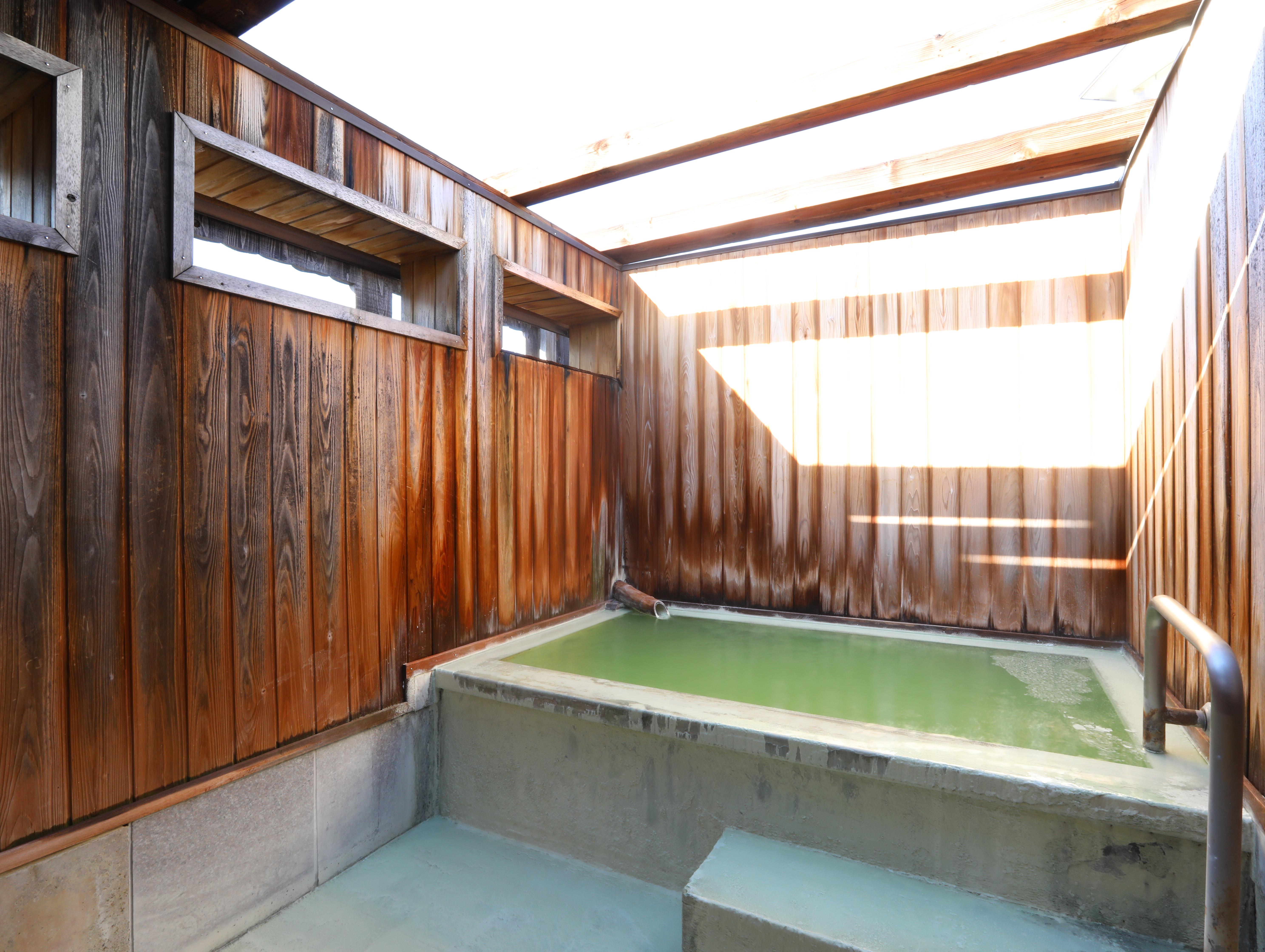 コロナ禍の為、露天風呂をお部屋単位で貸切利用
